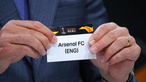 Andres Palop draws Arsenal in the Europa League draw.(REUTERS)
