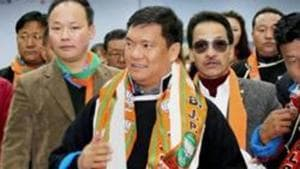 Chief Minister of Pema Khandu's government on Friday decided that the proposal to grant permanent resident certificate (PRC) would not be discussed in state assembly.(PTI)