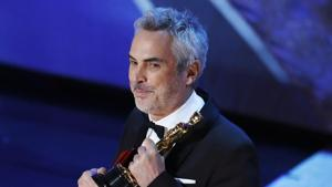 Alfonso Cuaron won three awards at Oscars 2019 including the Best Director nod for Roma.(REUTERS)