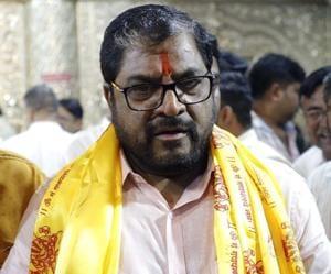 Raju Shetti, chief Swabhimani Shetakari Saghtana.(HT/PHOTO)