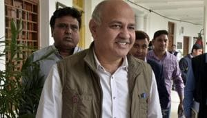 Deputy chief minister Manish Sisodia, while affirming that most government projects were on track, also announced that from next year, people would get to track all capital projects online from the day of their conception.(Sushil Kumar/HT Photo)