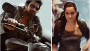 Prabhas and Shraddha Kapoor in a teaser of Saaho.(Video Grab)