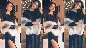 Navya Naveli Nanda's party dress is the type you definitely won't forget. See her look from Akash Ambani and Shloka Mehta's pre-wedding celebration.
