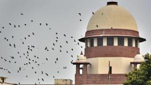 The Supreme Court on Thursday put on hold its own February 13 order for the eviction of 1 million tribespeople and others who allegedly encroached on forest lands.(Biplov Bhuyan/HT PHOTO)