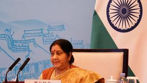 External Affairs Minister Sushma Swaraj(ANI)