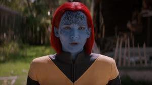 Jennifer Lawrence as Mystique in a still from Dark Phoenix.