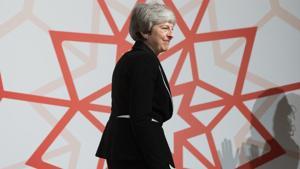 UK Prime Minister Theresa May.(Bloomberg file photo)