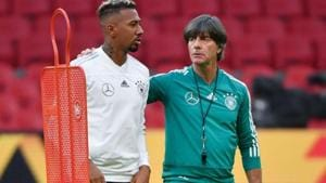 A file photo of German defender Jerome Boateng (L) and German coach Joachim Loew.(AFP)