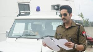 Article 15 first look has Ayushmann Khurrana as a policeman.