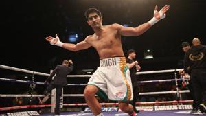 File image of Vijender Singh(Getty Images)
