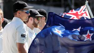 File image of New Zealand cricketer Kane Williamson (R) and Trent Boult.(AFP)