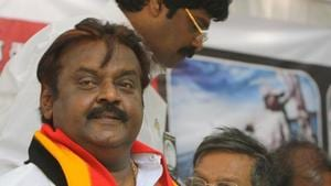 For a party that made waves within two years of its launch, the downfall has been too quick, made worse by Vijayakanth's ill-health(Dijeswar Singh)
