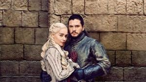 Jon Snow's world will come crashing down in Game of Thrones but at least he has Dany by his side.