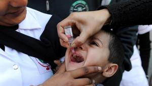 A three-day long intensified pulse polio immunisation drive (IPPI) will begin in the district on Sunday, with an aim to cover around 3.5 lakh children below the age of five, according to the district health department.(File Photo)