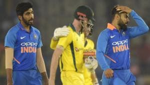 India vs Australia:Australia complete record chase to beat India in thriller at Mohali