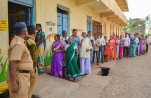 Voters and candidates will find this Lok Sabha elections different from earlier ones as the Election Commission has brought in a number of changes to the procedures of the polls.(PTI)