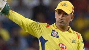 File image of MS Dhoni.(AFP)
