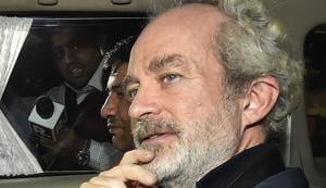 AgustaWestland scam accused middleman Michel Christian.(AP file photo)