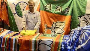 The general elections will be held across India in seven phases beginning April 11 and the counting of votes will take place on May 23.(HT file photo)