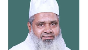 AIUDF founder Badruddin Ajmal is the sitting MP from Assam's Dhubri constituency.(HT PHOTO)