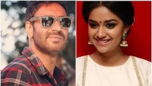 Ajay Devgn will play footballer Syed Abdul Rahim while Keerthy Suresh will be seen as his love interest.(Instagram)