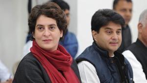 Congress General Secretary for Uttar Pradesh east Priyanka Gandhi Vadra(ANI)