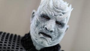 Jim Hampshire, dressed as a character from Game of Thrones, attends the opening day of Comic Con International in San Diego.(REUTERS)