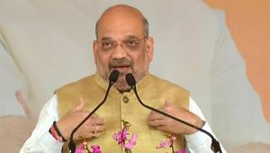 Bharatiya Janata Party (BJP) president Amit Shah on Friday sat down with senior leaders of the party from Bihar to iron out differences with ally Janata Dal (United).(ANI)