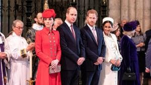 The change comes as former U.S. actress Meghan is due to give birth to her first child with the queen's grandson this Spring.(REUTERS)