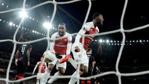 Arsenal's Ainsley Maitland-Niles celebrates(Action Images via Reuters)