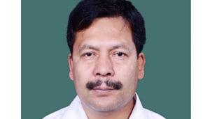 Independent MP Naba Kumar Sarania who won the Lok Sabha seat in 2014 .(HT PHOTO)