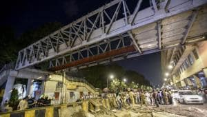 The court is scheduled to hear the first petition, filed by Pradeep Bhalekar a day after the bridge collapse, on March 22. (Photo by Kunal Patil/Hindustan Times)(Kunal Patil/HT Photo)