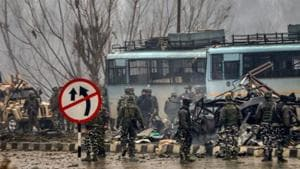Jaish-e-Mohammad has claimed responsibility for the Pulwama attack. The JeM is suspected to be backed by the ISI.(PTI/File Photo)