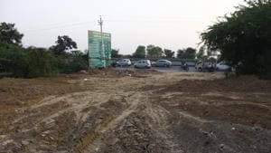 Residents and proprietors owning land in areas notified under Punjab Land Preservation Act (PLPA) in Gurugram and Faridabad have alleged the PLPA contradicts the National Capital Region Planning Board's (NCRPB) Regional Plan, 2021, for the NCR. (Photo by Yogendra Kumar/Hindustan Times)(Yogendra Kumar/HT PHOTO)