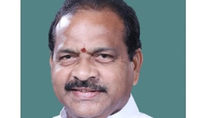 Thota Narasimham of the Telugu Desam Party (TDP) who won the Kakinada Lok Sbha seat in Andhra Pradesh in 2014, joined the YSR Congress party recently but will not contest this time from the constituency.(HT PHOTO)