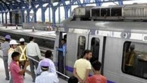 The Delhi Metro has set up kiosks at five interconnection stations that will allow people to check some of their health parameters.Pankaj Savita/HT File Photo)(HT File)