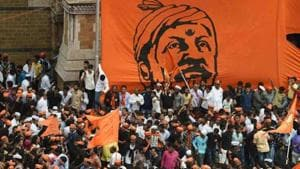 A division bench of Bombay HC is hearing a case related to the Maharashtra governement decision to give 16% quota to Maratha community.(AFP File)
