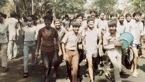 Can you spot Delhi chief minister Arvind Kejriwal in this throwback photo?