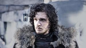 Kit Harington as Jon Snow in Game of Thrones.