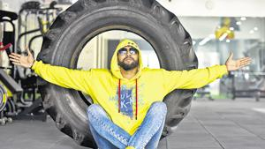 """Amreek Singh's first song, Jai Jai Bihar (2016), crossed 3,00,000 views on YouTube, impressive for a debut song. A Punjabi from Gurugram, he wants to """"better"""" the image of the Bhojpuri music industry.(Amal KS/HT PHOTO)"""