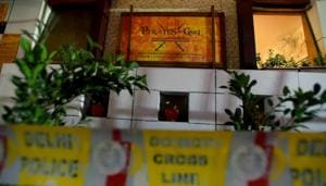 Two members of the housekeeping staff of a west Delhi restaurant died and two of their colleagues are battling for their lives after being asphyxiated in the eatery's kitchen waste treatment plant on Saturday afternoon, the police said.(Amal KS/HT File PHOTO)