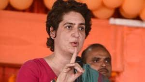 'BJP busy marketing T-shirts, while people suffer': Priyanka Gandhi Vadra