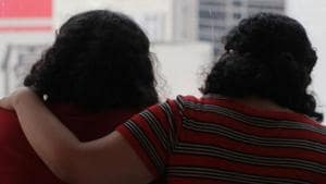 For reasons of safety, the sisters, aged 18 and 20, who say they were beaten by their father and brothers, asked that their names and faces not be revealed, nor the country to which they have now gone.(REUTERS)