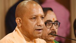 Uttar Pradesh chief minister Yogi Adityanath(Subhankar Chakraborty/HT FILE PHOTO)