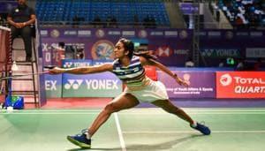 India's badminton player P Sindhu(PTI)