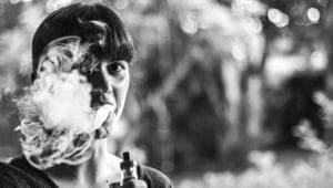 Vaping as dangerous as smoking, need blanket ban on e-cigarettes.(Unsplash)