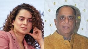 Pahlaj Nihalani has responded to Kangana Ranaut's claim of being asked to dress in a robe for a photo shoot.