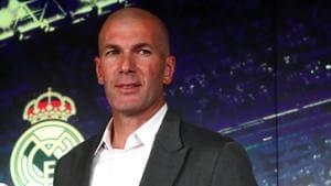 File image of Zinedine Zidane(REUTERS)