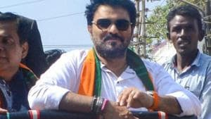 Babul Supriyo, Union minister and BJP candidate from Asansol Lok Sabha constituency, has criticised the move, describing it as a ploy to appeal to the Hindu voters in the constituency.(PTI)