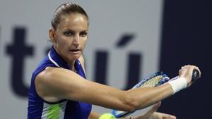 File image of Karolina Pliskova.(AFP)
